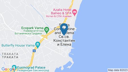 Primorski Hotel Map