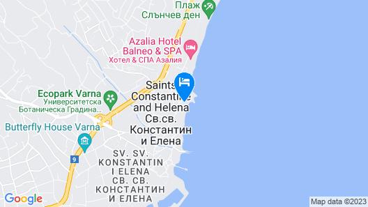 Sirius Beach Hotel & SPA Map