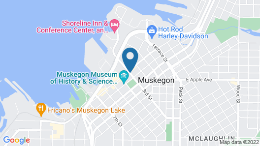Delta Hotels by Marriott Muskegon Lakeshore Convention Center Map