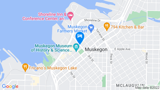 Delta Hotels by Marriott Muskegon Convention Center Map