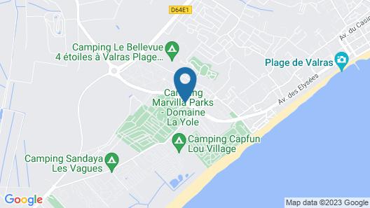 Camping La Yole Map