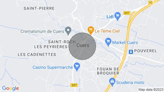 Les Cigales at Provence-alpes-côte D'azur Map