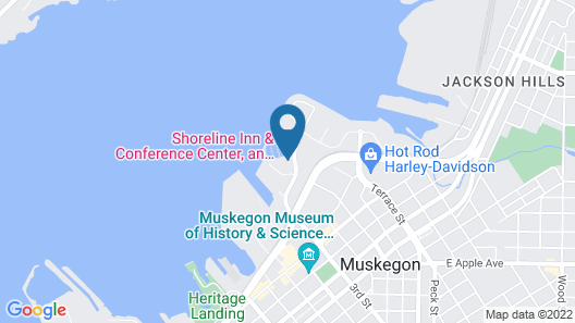 Shoreline Inn & Conference C, Ascend Hotel Collection Map