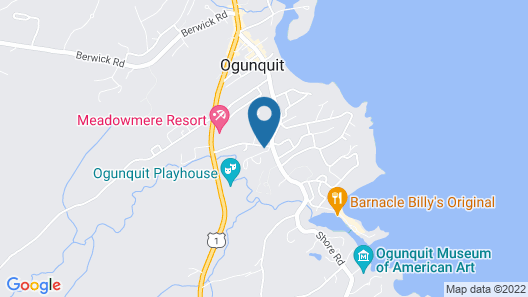 Bourne Bed and Breakfast Map