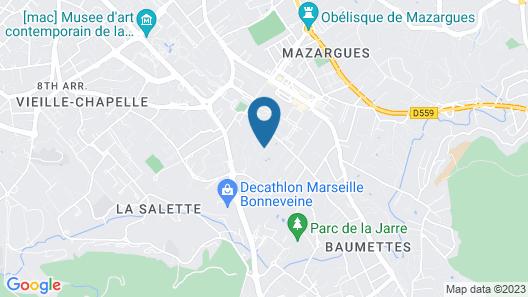 Chambre d'hôtes Fabilio Map
