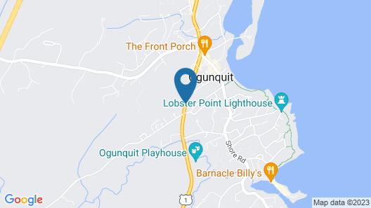 The Admiral's Inn Resort Map