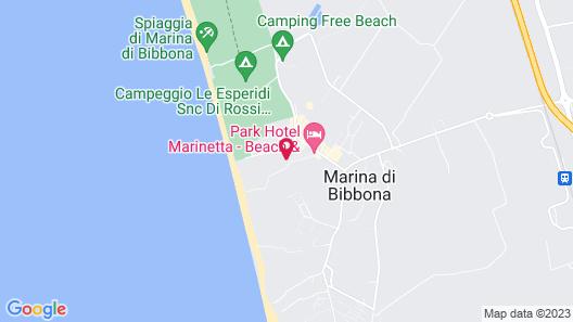 Park Hotel Marinetta Map