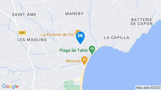 La Ferme d'Augustin Map