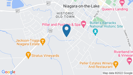 Graystone Bed and Breakfast Map