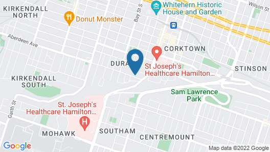 Hamilton Guest House by Elevate Rooms Map