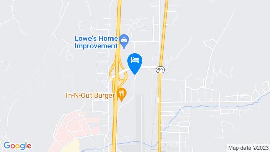Motel 6 Roseburg, OR Map