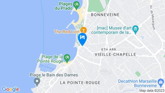 Hôtel Le Mistral Map