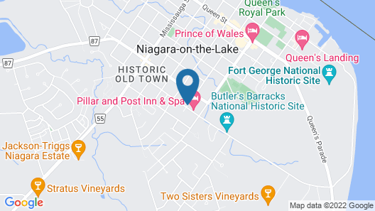 WeatherPine Inn Map