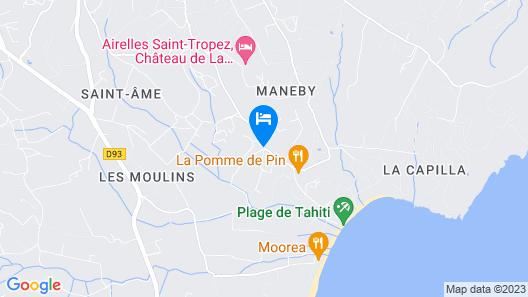 Hôtel La Figuière Map