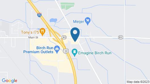 Holiday Inn Express Birch Run - Frankenmuth Area, an IHG Hotel Map