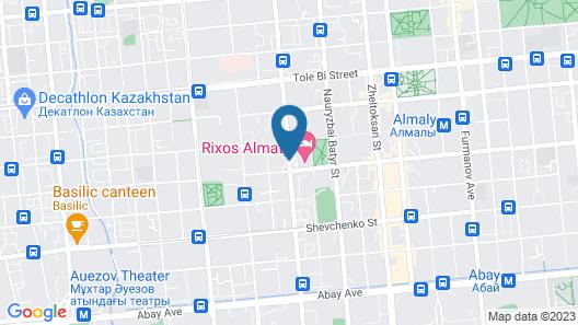 Rixos Almaty Hotel Map