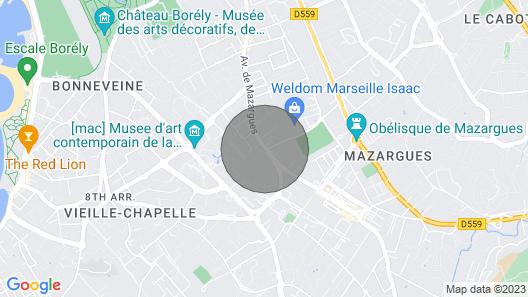 Belle Maison Rénovée 180m2, Proche Plages et Calanques Map