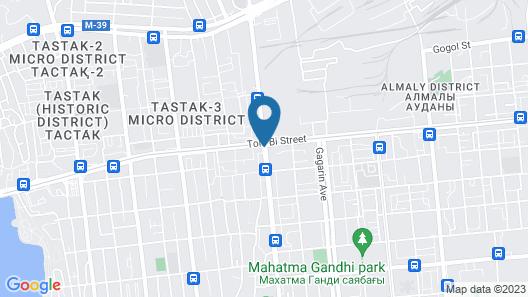 DoubleTree by Hilton Almaty Map
