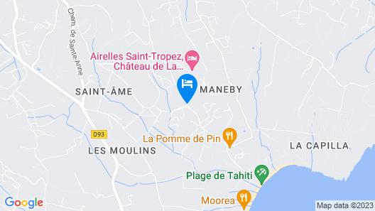Hôtel La Garbine Map