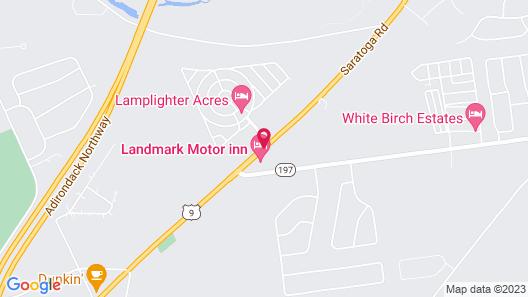Landmark Motor Inn Map