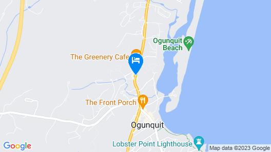 Juniper Hill Inn Map
