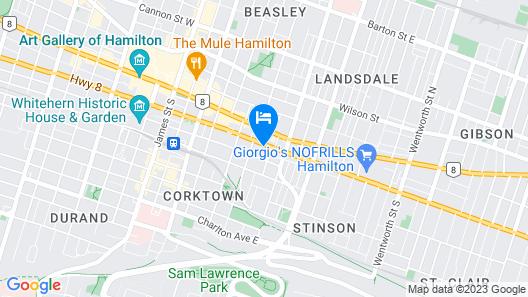 Days Inn by Wyndham Hamilton Map