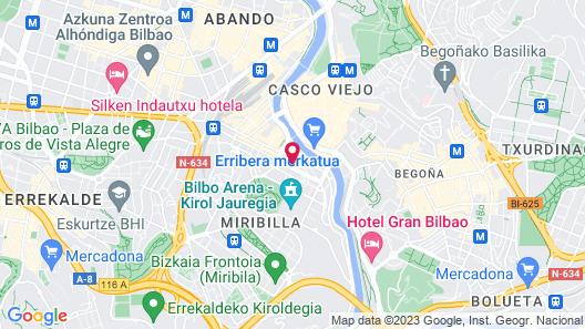 Hotel Bilbi Map