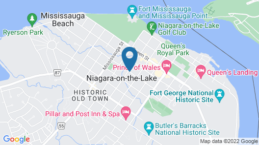 Le Papillon Bed & Breakfast Map