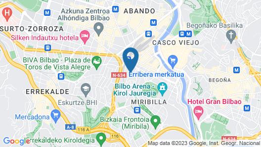 Class Bilbao Piso Diseño AC Map