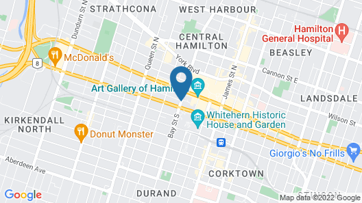 Homewood Suites by Hilton Hamilton, Ontario, Canada Map