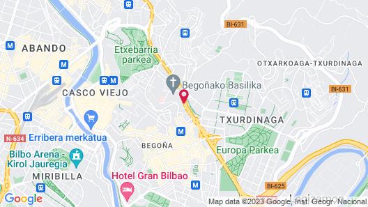 Occidental Bilbao Map