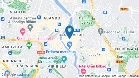 Casual Bilbao Gurea Map