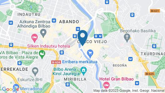 Hotel Tayko Bilbao Map