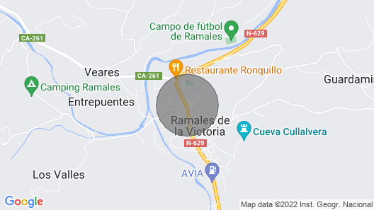 APARTMENT 5 MINUTES FROM COVALANAS AND CULLALVERA CAVES Map