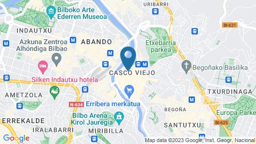 Petit Palace Arana Map