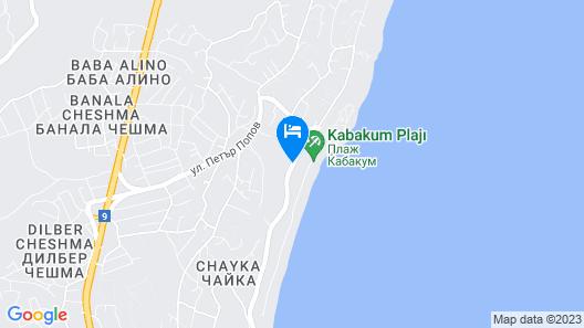 Cabacum Beach Residence Map