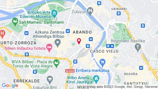 Hotel Sercotel Coliseo Map