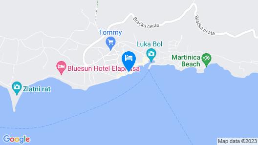 Luxury Seaside Apartments Map