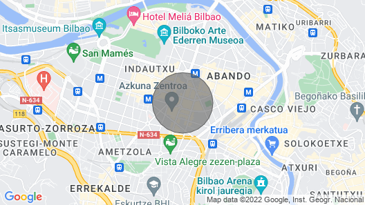 Alameda Recalde Centro Map