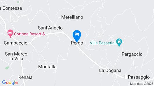 Villa Eugenio Map