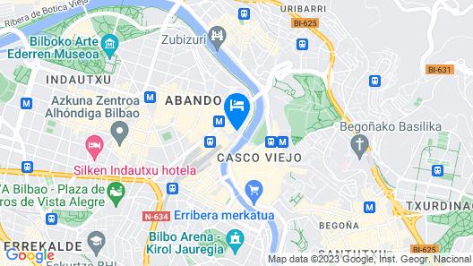 Guitar Hostel Map