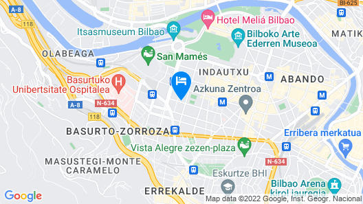 INDAUTXU III apartment by Aston Rentals Map