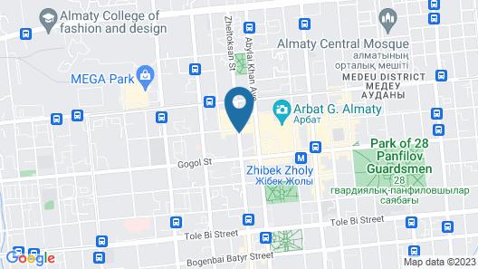 Lessor Apartments Map
