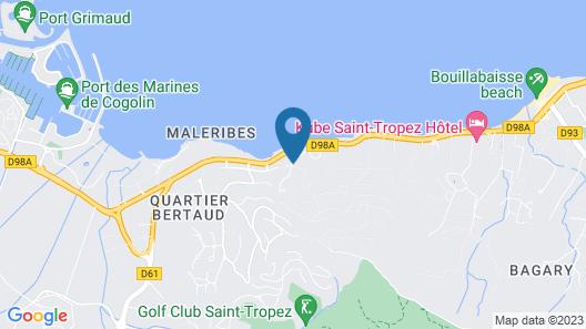 La Bastide D'Antoine Map
