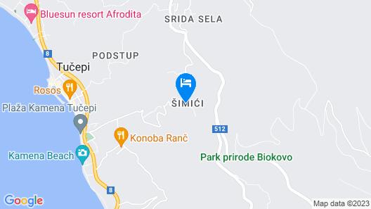Villa Yanko Map
