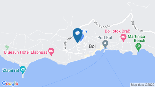 Boutique Hotel Bol Map