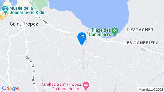 Lou Pinet Map