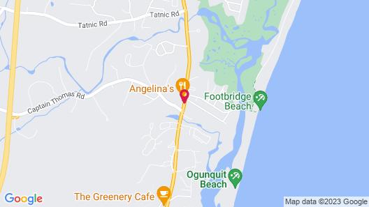 InnSeason Resorts The Falls at Ogunquit Map