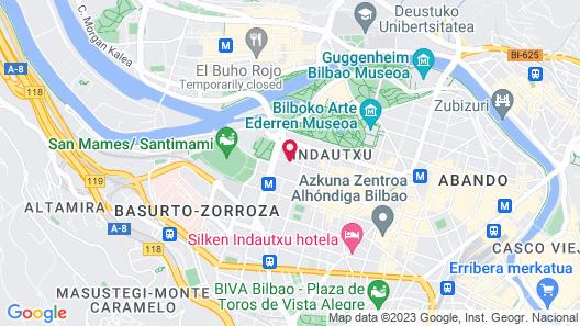 Hotel ILUNION Bilbao Map
