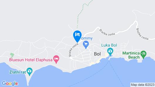 Bluesun Hotel Elaphusa Map
